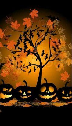 Halloween Retro Halloween, Deco Porte Halloween, Theme Halloween, Halloween Images, Halloween Prints, Halloween Cards, Holidays Halloween, Spooky Halloween, Halloween Pumpkins