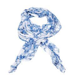 Culture sjaal Manuette in de kleur blauw