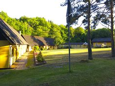 Hotel Skovly, Rønne, Bornholm. Some of the Premium double rooms and one holiday apartment.