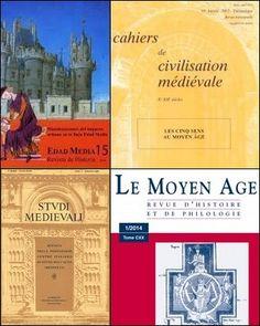 Historia medieval http://kmelot.biblioteca.udc.es/search~S1*gag?/dEdad+media+--+Publicaciones+peri{226}odicas./dedad+media+publicaciones+periodicas/-3,-1,0,B/exact&FF=dedad+media+publicaciones+periodicas&1,23,