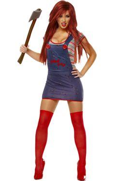 Seed Of Chucky Halloween Costume (female) | Jokers Masquerade