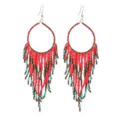 2ec87b135 US$8.99 - Bohemian Colorful Resin Beads Tassels Earrings Ethnic Statement  Long Dangle Earrings for Women
