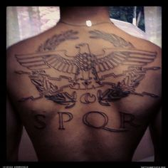 SPQR  - For the Senate And People Of Roma