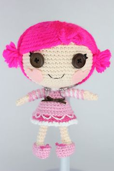LALALOOPSY LITTLE Toffee Cocoa Cuddles Amigurumi by Npantz22 on deviantART