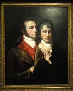 Raphael West and Benjamin West Jr., Sons of the Artist, by Benjamin West, c. 1796