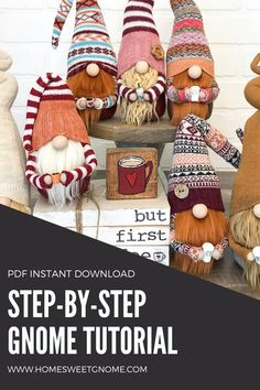 Christmas Craft Projects, Diy Craft Projects, Sewing Projects, Christmas Gnome, Christmas Makes, Crafts To Make, Crafts For Kids, Arts And Crafts, Craft Gifts