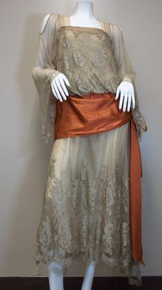 1920s, Art Deco dress