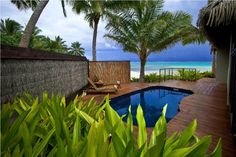 Sea Change Villas, Cook Islands. Rated 9.9 out of 10!