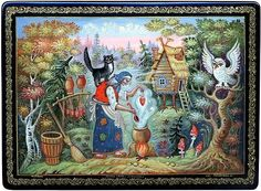 Russian Baba Yaga Fairy Tales | Baba Yaga - a traditional character of the Russian fairy tales