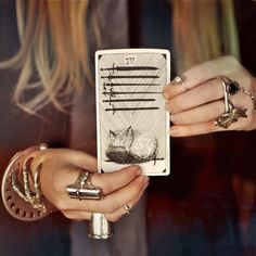 Practice your tarot reading skills.