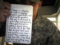 Love our service members!