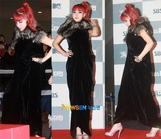 Park Bom @ 2011 SBS Gayo Daejun
