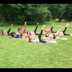 Pilates in the Park, Eastbourne!