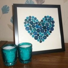 What a great DIY Christmas present or home decorating if you have a specif color scheme