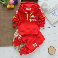 2016 new arrival High quality baby boys&girls clothes baby tracksuit brand sport sets long sleeve+pants 2pcs Christmas infant #>=#>=#>=#>=#> Click on the pin to check out discount price, color, size, shipping, etc. Save and like it!