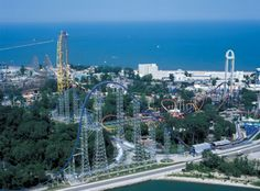 Cedar Point, Sandusky Ohio...perfect combo of thrills and beach... just my favorite place in the world