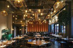 Chai Ki, London. restaurant interior design by DesignLSM. Photography (c) James French Photography