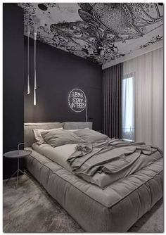 This is a Bedroom Interior Design Ideas. House is a private bedroom and is usually hidden from our guests. However, it is important to her, not only for comfort but also style. Much of our bedroom … Gray Bedroom, Master Bedroom Design, Trendy Bedroom, Bedroom Colors, Home Decor Bedroom, Modern Bedroom, Contemporary Bedroom, Bedroom Apartment, Grey Room