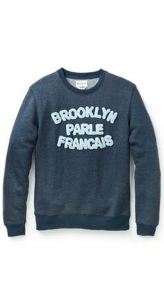 BWGH Brooklyn Parle Francais Sweater