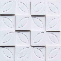 Brogliato Revestimentos - Coleções - Print - Flower White - 30x30cm.