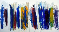 Trees, 1990–91. Oil on canvas (diptych), 86 3/4 x 157 1/2 inches (220.3 x 400.1 cm). Collection of the Joan Mitchell Foundation, New York.  © Estate of Joan Mitchell.