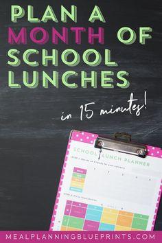 How to plan school l