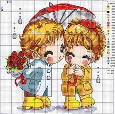 Como-bordar-figuras-de-niños-en-punto-de-cruz06.jpg 604×600 pixels