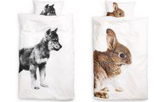 h kids bedding photo print animal duvet sets