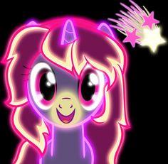 Commission Neon Purify by ZantyARZ on DeviantArt Hasbro My Little Pony, My Lil Pony, Invitaciones My Little Pony, Neon Light Art, My Little Pony Wallpaper, My Little Pony Twilight, Cute Ponies, Unicorns And Mermaids, My Little Pony Pictures