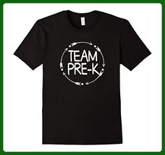 Mens Team Pre-K PREK Teacher Tshirt First Day School Last Day Small Black - Careers professions shirts (*Amazon Partner-Link)