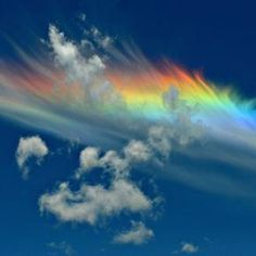 Fire Rainbows – the rarest of all naturally occurring atmospheric phenomena. The clouds needed for these rare events have to be cirrus and at least 20,000 feet in the air, with just the right amount of ice crystals. The sun also has to hit the clouds at precisely 58 degrees.