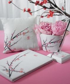 Who knew there were so many matchy matchy cherry blossom goodies?