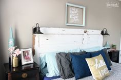 Our recent move was the perfect time to toss our super old mattress and upgrade to a King sized bed (which has been on my wish list for years)! We got a great d…