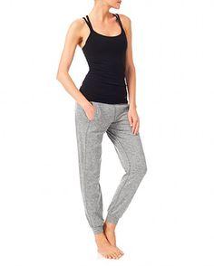 Namaska Yoga Vest - Black | vests | Sweaty Betty