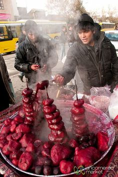 Ardabil Beets in Iran by uncorneredmarket, via Flickr