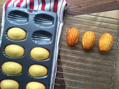 The best French madeleine cake recipe ever.