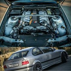 BMW e36 compact with V12 engine
