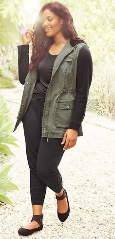 795f9079a687 Plus Size Anorak Jacket Plus Size Winter Outfits