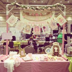 lolita artist alley booth - Google Search