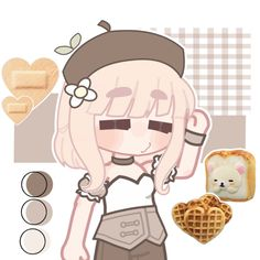 ☕🍫👜 Club Face, Club Design, Club Outfits, Cute Drawings, Lily, Anime, Style, Character Outfits, Club