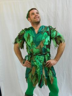 Peter Pan Musical Theatre Costumes. Costumes for Peter Pan, the Musical provided by Molly Limpet's of Sheffield.