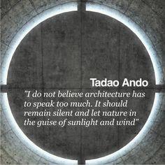 Architectural Quote – Tadao Ando