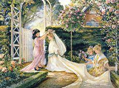 Trisha Romance Garden Wedding