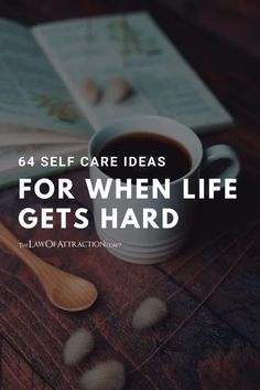 If you need some inspiration, look to any one (or more) of these 64 quick and effective ways to practice self care.