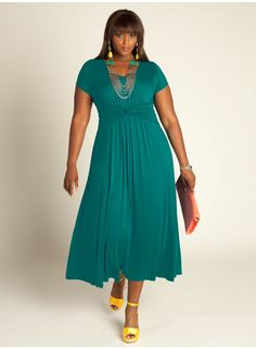 Antonia Dress in Lagoon Blue