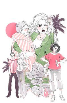 art by Marguerite Sauvage