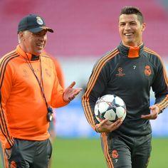 Carlo Ancelotti backs Real Madrid and Cristiano Ronaldo to top La Liga
