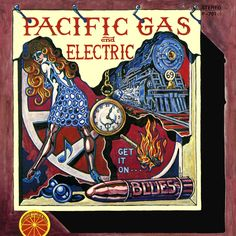 """""""Get It On"""" by Pacific Gas & Electric (1969, Bright Orange).  Their first LP, and only LP on the Bright Orange label."""