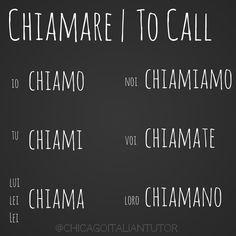 chiamare   to call {day 32} #chiamare #tocall #verbchallenge #100daysofverbs #michiamo #chicagoitalian #impariamoitaliano #parliamoitaliano #speakitalian #studyitalian #learnitalian #italiano #travelitaly #travel #italia #chicagoitaliantutor