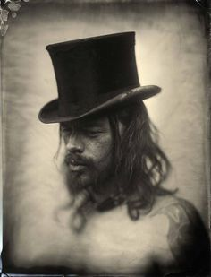 Ed Ross, Tintype, whole plate (6.5 x 8.5 inches)